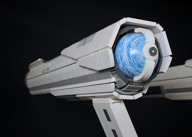 Awesome 5-Foot-Long LEGO USS Enterprise (13)