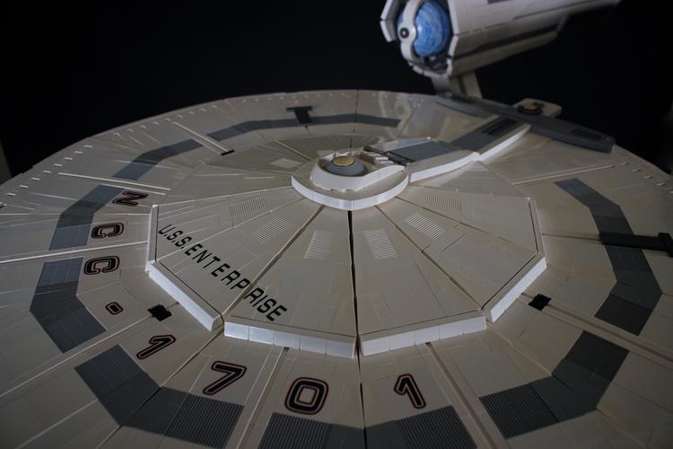 5-Foot-Long LEGO USS Enterprise