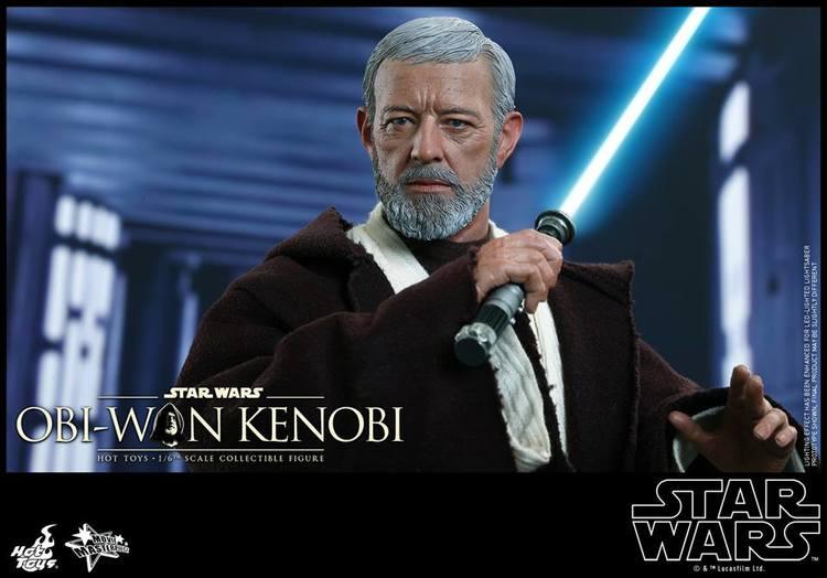 Hot Toys STAR WARS Obi-Wan Kenobi Action Figure