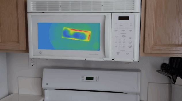 Microwave With Infrared And Heat Camera