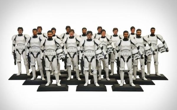 Print a 3D Stormtrooper With Your Face On It