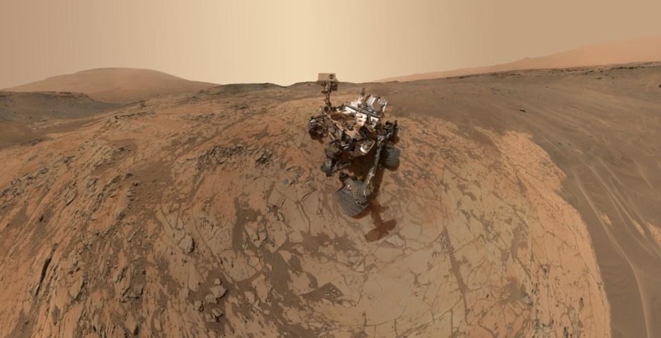 Stunning Latest Selfie Of Curiosity from Mars