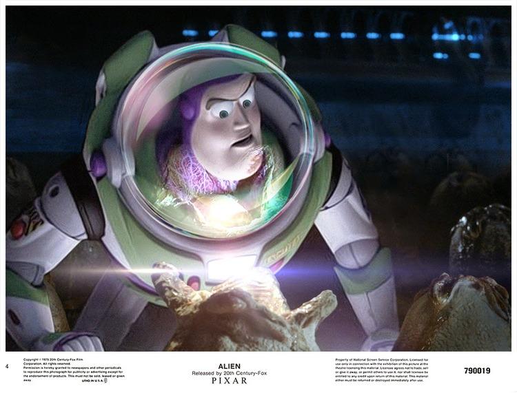 Buzz Lightyear art