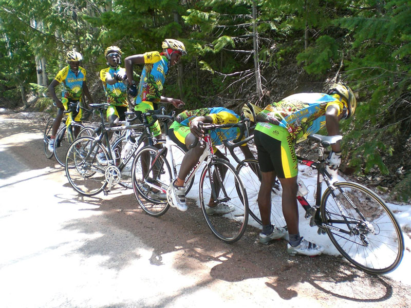 Team Rwanda Sees Snow For First TimeEver