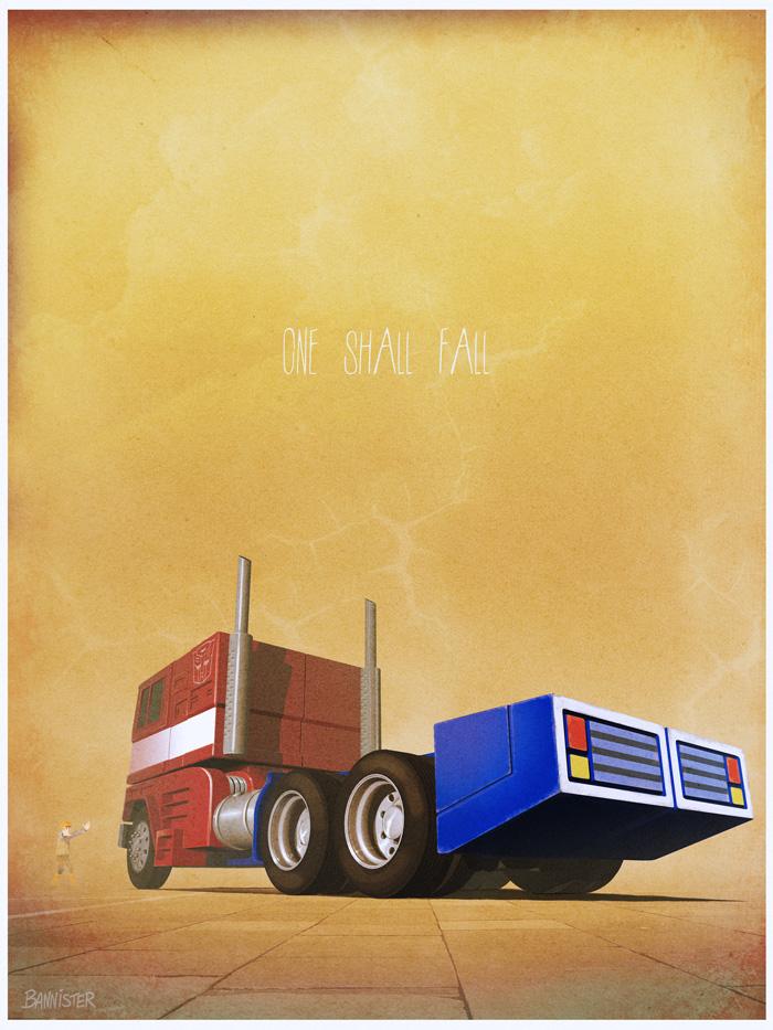 Stunning Iconic Film and TV Vehicle Art