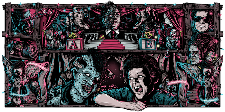 Classic Horror Movie Poster Art Series