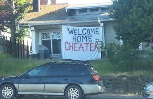 People Getting Publicly Shamed for Cheating