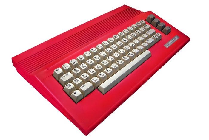 Original Commodore 64C Computer Case