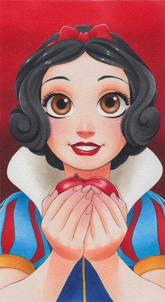 Manga-Style Disney Princesses Art