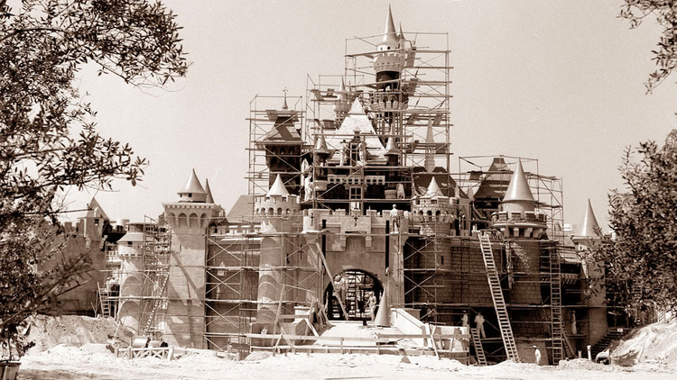 Disneyland's Timelapse Construction Video From The 50s