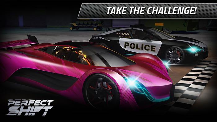 Perfect Shift Racing Game