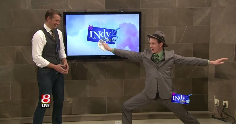 The Amazing Barry's Yoga MagicTrickThe Amazing Barry's Yoga MagicTrick