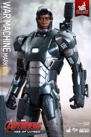 Hot Toys Reveals War Machine Mark II from Avengers: Age of Ultron