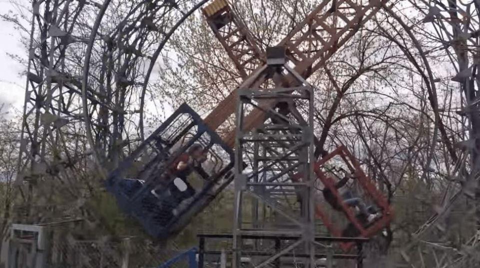 Human-Powered Theme Park