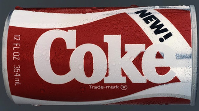 Feature Based on 1985 New Coke Marketing Disaster
