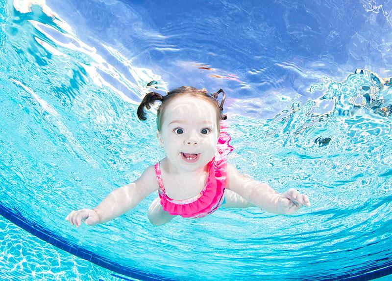 Underwater Photos of Babies