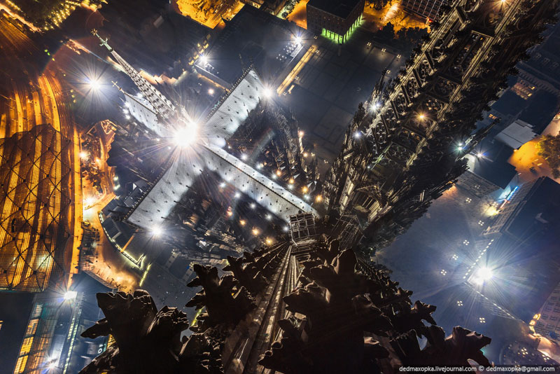 Cologne Cathedral from the Top of aSpire