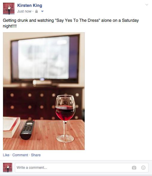 18 Picture Of Single People Being Honest on Facebook