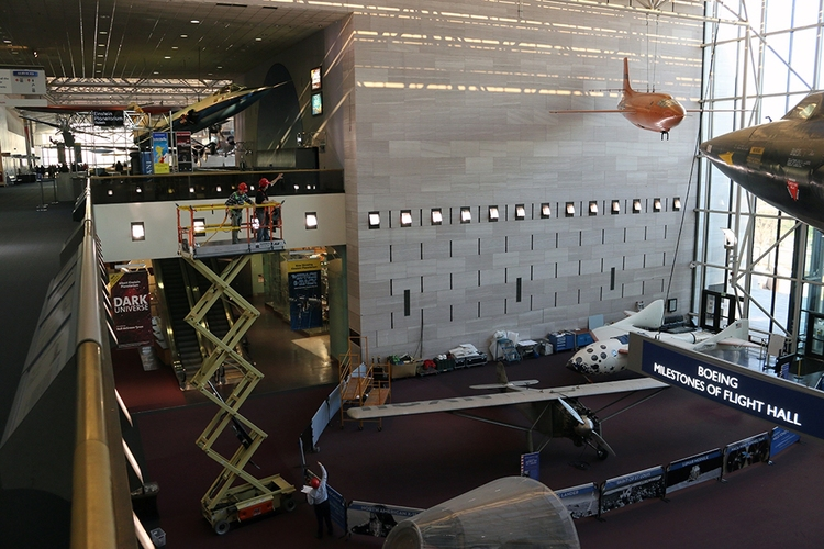 National Air and Space MuseumDisplayingWonder Woman's Invisible Jet