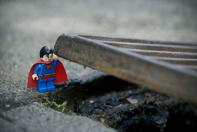 Photographer Creates Life-Like Scenes With Lego