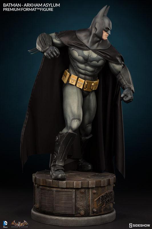 BATMAN: ARKHAM ASYLUM — Batman Statues From Sideshow