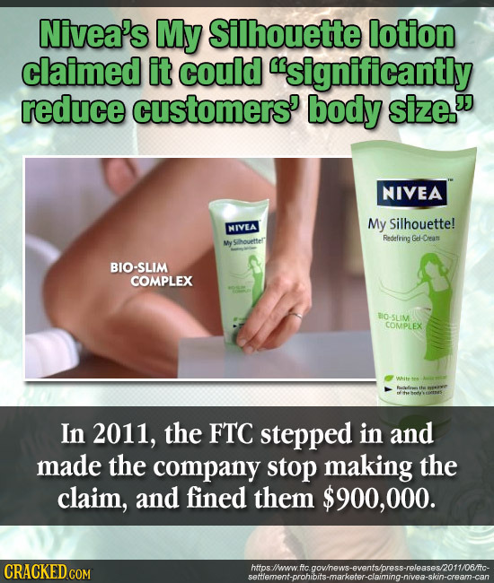 famous advertisements which are complete lies