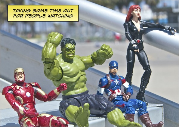 The Avengers Take Over L.A.