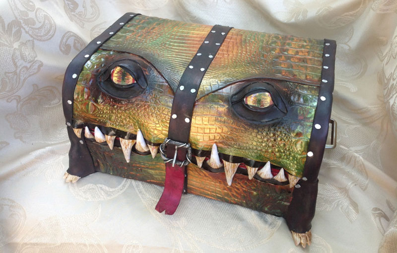 Boxes and Bags Turned Into Monsters