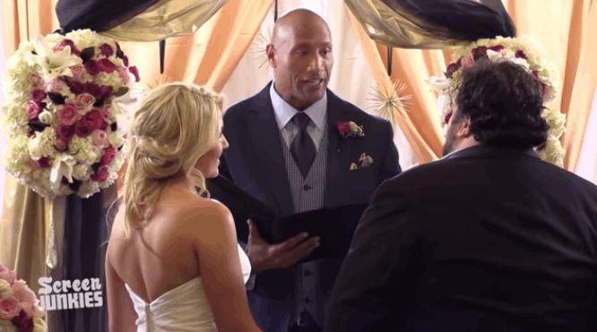 Dwayne Johnson's Fan Wedding Surprise