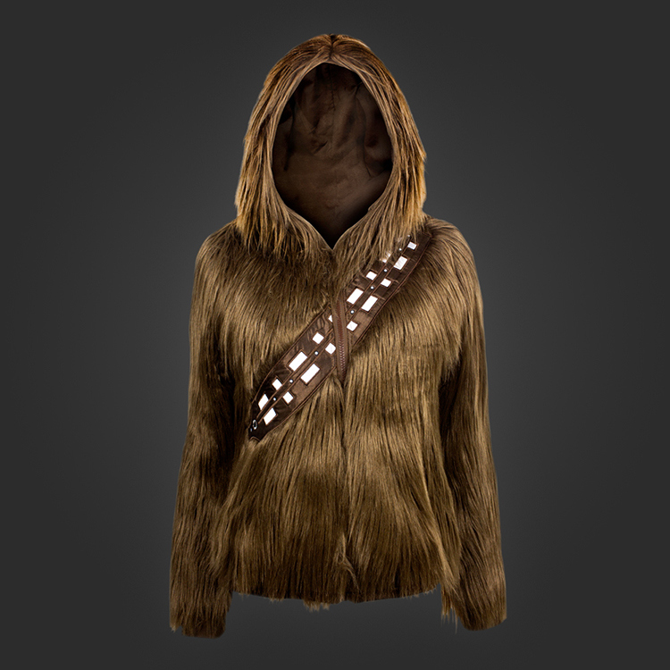 A Furry 'Star Wars' Hoodie That Makes You Transform Into Chewbacca