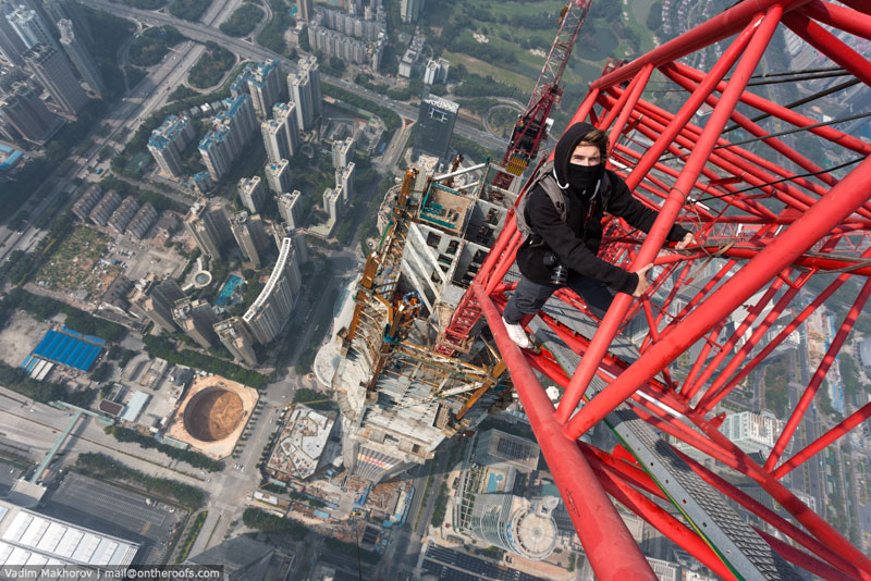 The Shanghai Daredevils are Back with an Equally Insane Climb