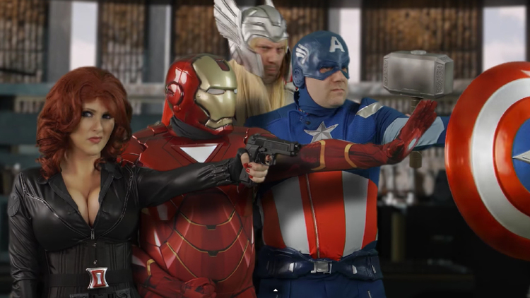 """The Avengers Doing The Boogie in This """"Ultron Funk"""" Parody Video"""