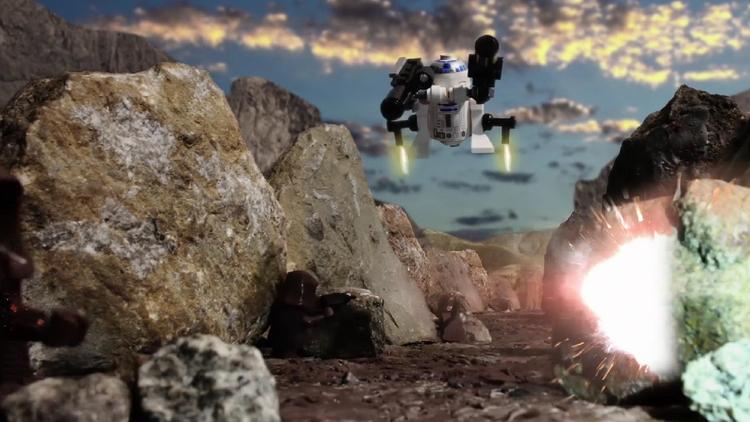 R2-D2 Goes Goes Berserk in This LEGO Parody