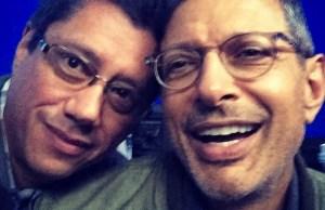 Jeff Goldblum's Independence Day 2 Set Photo