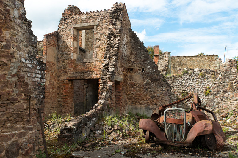 Oradour Sur Glane, France