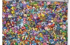 Exciting Pokémon Duvet Cover