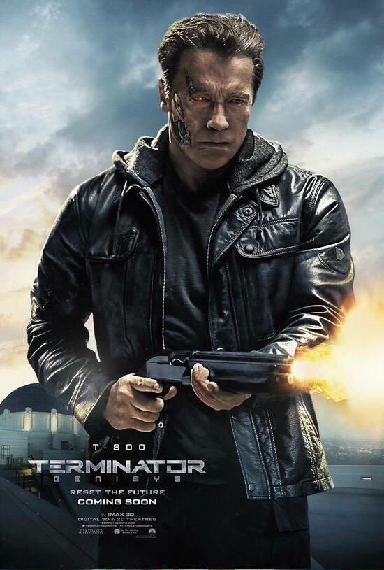 Terminator Genisys posters