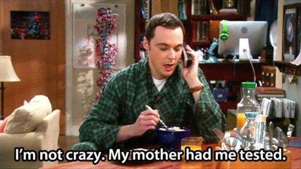 Perfect Sheldon Cooper Moments