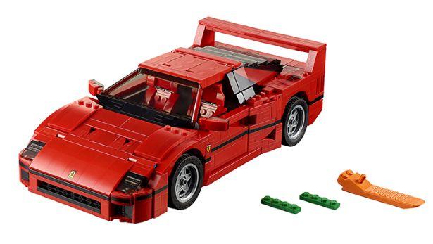 Awesome Lego Ferrari F40 (9)