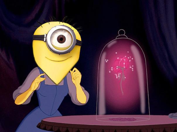 Minions as Disney Princesses