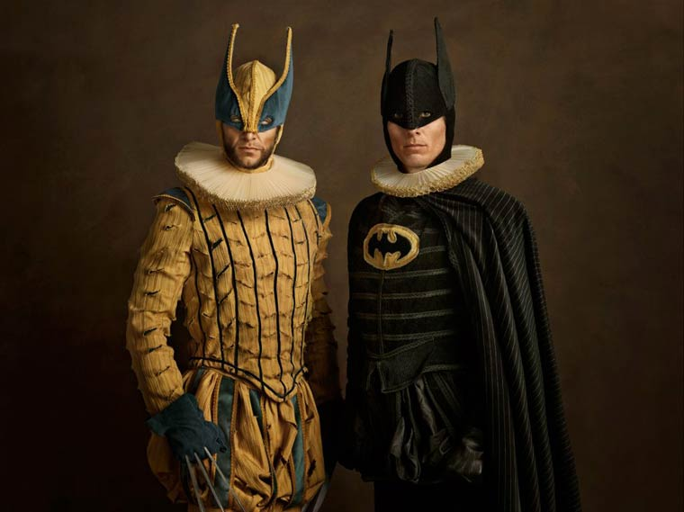 Pop Culture Characters Meet Classical Flemish Painting