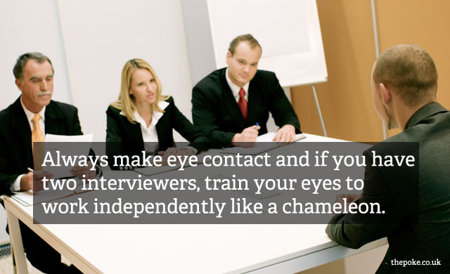 Questionable Interview Tips