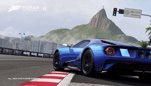 new Ford GT Stars in Forza 6