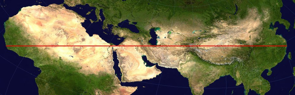 the-longest-distance-you-can-travel-without-crossing-a-major-body-of-water