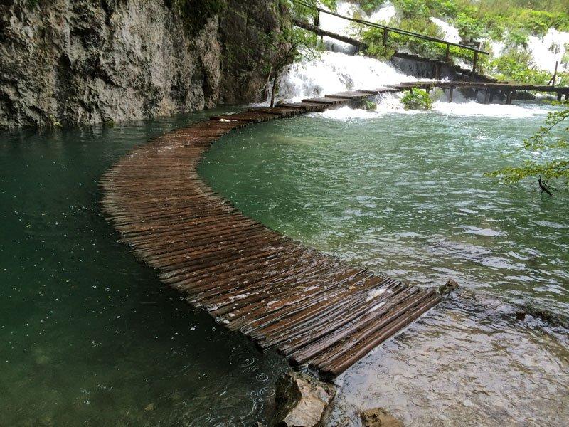 Stunning Water Walkway inCroatia