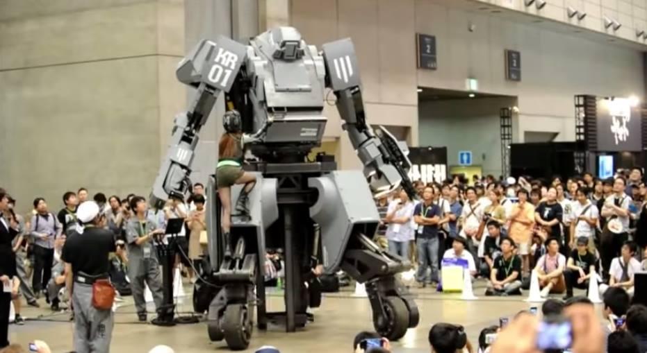 USA builds giant robot