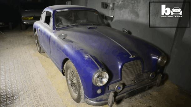 This Rare Aston Martin Is A Gem Of Barn Find Car
