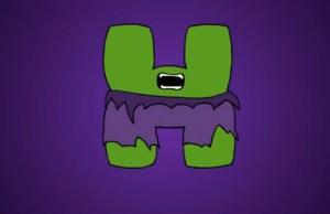 Marvel-Themed Alphabet Video Animates Each Letter as a Hero or Villain
