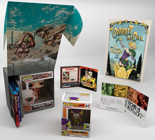 FUNimation Announced Comic-Con Exclusives at Anime Expo