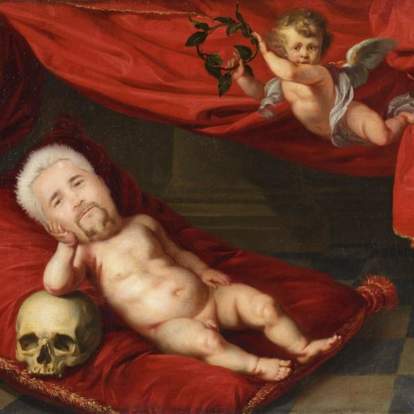 Guy Fieri as Renaissance Babies is So Ugly You Can't Look Away